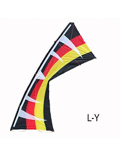 ZSYF Drachen Kite Outdoor Fun Sports 100 Zoll VierleinerLenkdrachen Easy Flying Power Sportdrachen Mit Fliegenden Werkzeugen