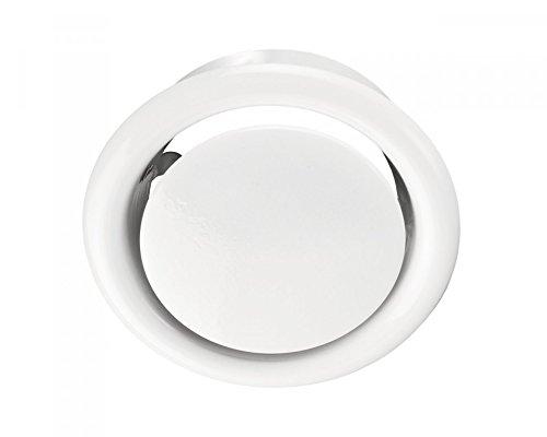 Preisvergleich Produktbild Abluft-Tellerventil Original Vents AM-VRF Ø 100 mm Metall aus weißem pulverbeschichtetem Stahl