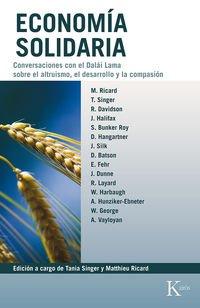 Economía Solidaria (Biblioteca de la nueva conciencia)