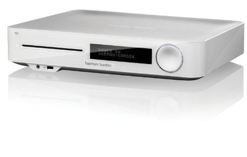 Harman Kardon 2.1 3D-Blu-ray Receiver mit AirPlay und HDMI mit EU- und UK-Netzstecker