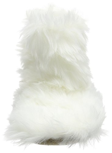 Eaze - Fur Bootie Slipper, Pantofole Donna Bianco (bianco grezzo (panna))