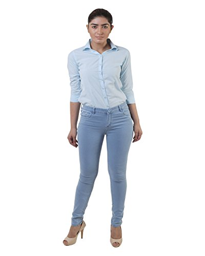 Lee Marc Women's Slim Fit Jeans (Ladies Jeans Blue_34, Blue, 34)  available at amazon for Rs.799