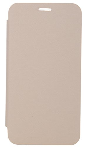 iCandy Soft TPU Non Slip Back Shell PU Leather Hybrid Flip Cover for Motorola Moto G 2nd Gen - WHITE  available at amazon for Rs.99