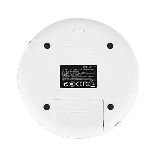 Richer-R Lecteur CD avec Sortie Audio de Haute qualité, Portable Antichoc Bluetooth HiFi stéréo Lecteur de Musique CD avec écouteurs EU Plug... 11