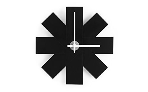 Price comparison product image Normann Copenhagen Watch Me Wall Clock in Black