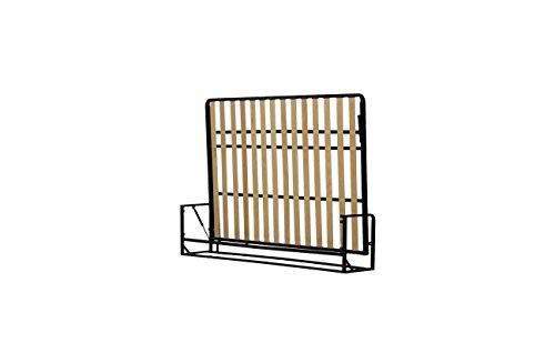 Wallbedking Classic Mécanismes de Lit Mural/Lit Escamotable/Lit Rabattable Horizontal 140cm x 190cm