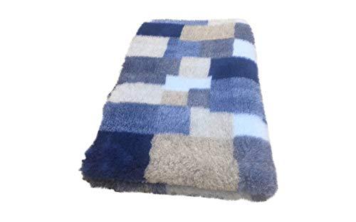 Topmast Vet Bed Doppelpack 3 farbig blau, 2x150/100cmm wunderschönes Muster!