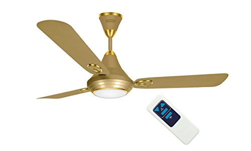 Luminous 1200MM Lumaire Underlight Ceiling Fan-Silky Gold with remote