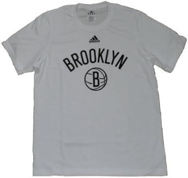 adidas NBA Brooklyn Nets Camiseta de color blanco Talla XL