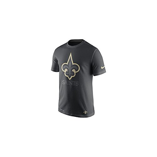 New Orleans Saints Anthracite Travel T-Shirt