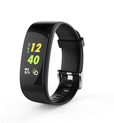 swisstone SW 650 Pro Smart-Wearable (mit Bluetooth Funktion, Herzfrequenzmessung und GPS Activity-Tracker, Fitnessarmband, 7 Sportmodi, IP67, Weckfunktion, Facebook, WhatsApp, Twitter)