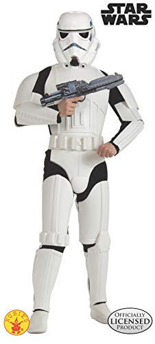 Rubie's 3 888572 - Stormtrooper Deluxe Erwachsener Kostüm, Größe M/L (Halloween Stormtrooper Kostüm)