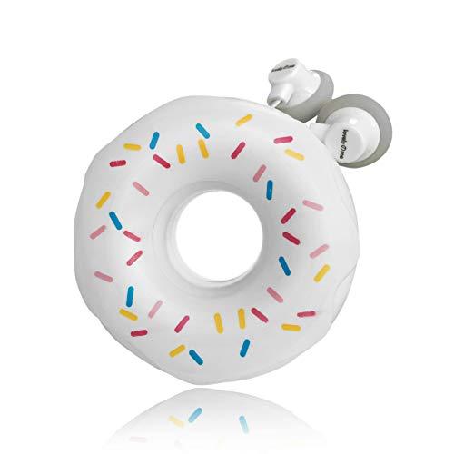 QearFun Nuevo Donut Donut Color Caramelo Auricular