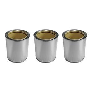 Brennstoff-Dosen aus Weißblech (je 0,5 L.) Bei diesem Angebot handelt es sich um 3 Brennstoff-Dosen aus Weißblech mit einem Fassungsvermögen von je 0,5 Liter und 3 dazu passende Deckel. Die Brennstoff-Dosen haben einen Durchmesser von 8,6 cm und eine...