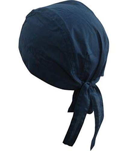 noTrash2003 Design Bandana Cap Mütze Kopftuch verschiedene Farben für Sport und Freizeit (Petrol)