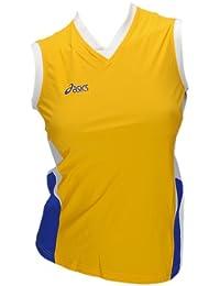 Asics Indoor Sports Volleyball Handball Trikot Offence Sleeveless Top Femmes 0301 Art. 648205