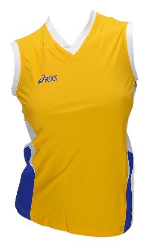 Asics Indoor Sports Pallavolo Pallamano Sportshirt Trikot Offence Sleeveless Top Donna 0301 Art. 648205 Taglia L