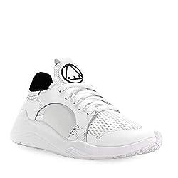 02e8e13e1deba ... McQ Women s Shoes by Alexander McQueen Women s White Gishiki Low Sneaker  Spring Summer 2019