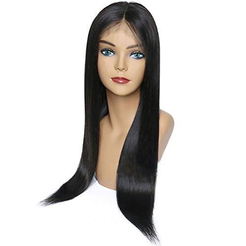 Hungrybubble parrucca lunga parrucca nera parrucca cosplay per le donne (color : black)