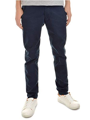 BEZLIT Kinder-Hose Jungen-Hose Chino-Hose Röhre-Hose Straight Fit Stretch RX 22871 Blau 140