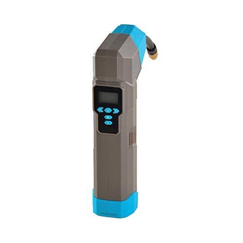 HSJLH Pompa di Bicicletta, Pompa Portatile in Alluminio antigelo Labbra Multifunzione applicabili alle Biciclette, Auto elettriche, Moto e Tutti i Tipi di Palle, Rosso