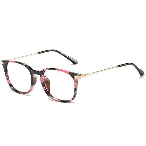 Cvthfyky Ultraleichter, einfacher Anti-Blu-ray-Brillengläser, unisex (Farbe : E)