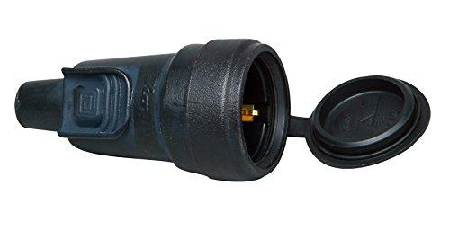 Preisvergleich Produktbild Kopp Gummi-Kupplung verriegelbar, 1 Stück, schwarz, 180616048
