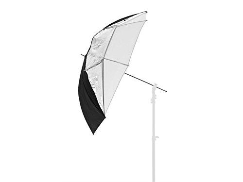 Lastolite LL LU4537F Ombrello Reversibile Diametro 100 cm, Argento/Bianco/Traslucido