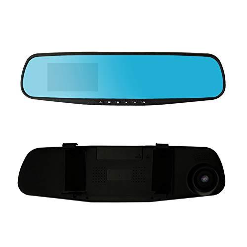 1080P HD Auto Dash Kamera Dual Cam Fahrzeug Front Rear DVR Objektiv Videorecorder (As The Picture Shows)