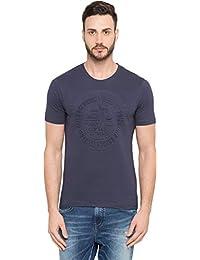 Globus Short Sleeved Embossed T-Shirt