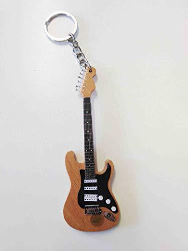 Eddie Clarke (Motörhead): Fender Stratocaster Schlüsselanhänger aus Holz (Motorhead Miniatures)