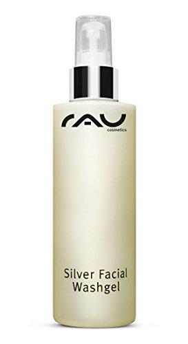 RAU Silver Facial Washgel 200 ml - Waschgel für das Gesicht mit hochporösem Silber, ideal bei...