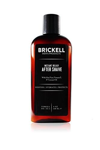 Brickell Men's Aftershave mit Sofortiger Linderung für Männer - 4 oz - Natürlich und Organisch