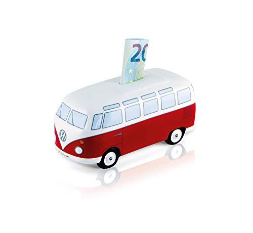 Brisa VW Collection VW T1 Bulli Bus Spardose Keramik (1:22) - Classic Rot