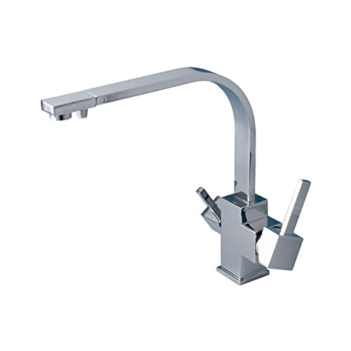 Hot-tap (Triflow Chrome 3 Way Tri Flow Three Way - Hot, Cold, Filter Tap Water VYR-013309 by VYAIR)