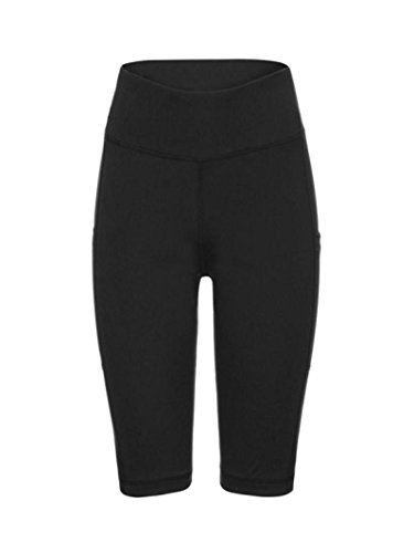 Gym Short Yoga Trousers Pants for Women,Lolittas High Waisted Cropped Tummy Control Wide Leg Cropped Running Casual Yoga Sport Leggings