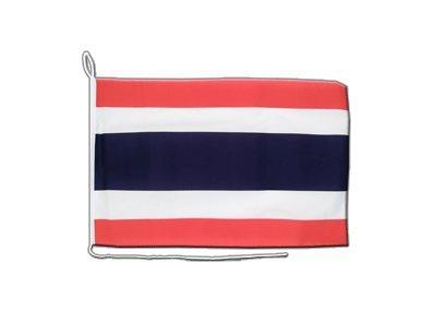 Thailand Flagge, thailändische Bootsflagge - 30 x 40 cm, MaxFlags®