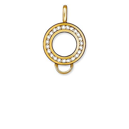 Thomas Sabo Damen-Ring-Trägerelement 925 Silber Zirkonia weiß - X0185-414-14