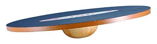 Megaform Balanceboard Freeman Balanceboard, schwarz/braun, Normal, M436267