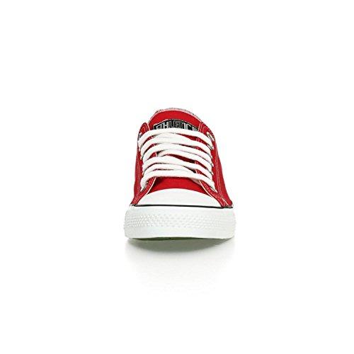 Ethletic Sneaker LoCut – rot / weiß aus Bio-Baumwolle, vegan & fair trade - 6