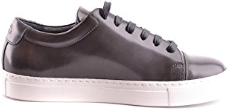 NATIONAL STANDARD Herren MCBI400002O Grau Leder Sneakers