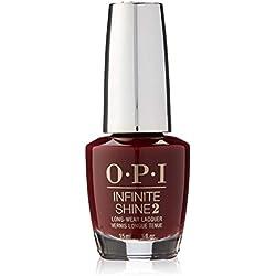 OPI - Vernis à Ongles - Infinite Shine - Nuances de Rouge - Got The Blues for Red - Qualité professionnelle - 15 ml