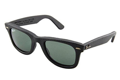 ray-ban-wayfarer-gafas-de-sol-polarizado-unisex-negro-schwarz-polarized-grun-klassisch-1152n5-50