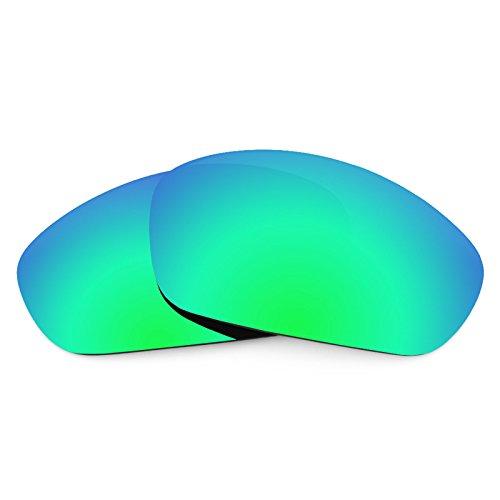Revant Ersatzlinsen für Oakley Straight Jacket (2007) Polarisierung Emerald Grün MirrorShield®