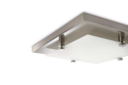 Plafoniera Quadrata Philips : Philips cross lampada quadrata da soffitto lampadina inclusa