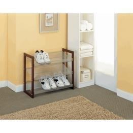 Organize It All Boston 3-Tier Shoe-Shelf by Organize It All -