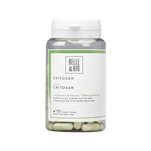 Belle&Bio - Chitosan - 120 gélules - 1320 mg - Brûleur - Capteur - Fabriqué en France