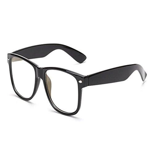 Yefree Blu-ray Filter Computer Brille Anti-UV-Brille Mode altmodische transparente Gläser