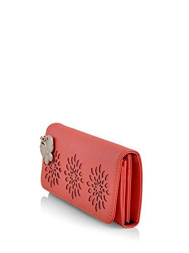 Butterflies Women's Wallet (Dark Peach) (BNS 2390DPCH)