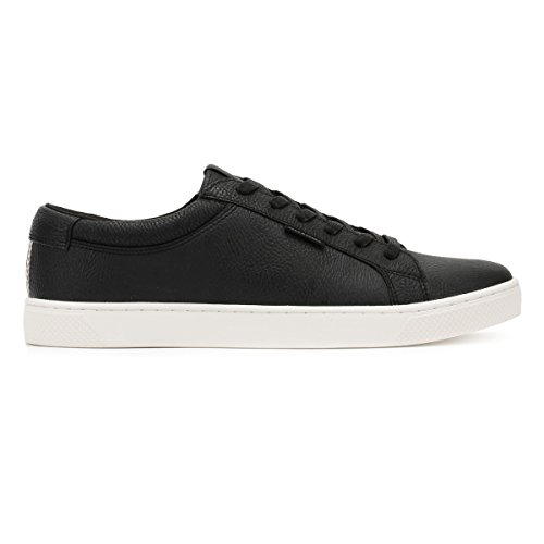 Jack & Jones Jfwmervin Textile Bright White, Sneakers Basses Homme Anthracite